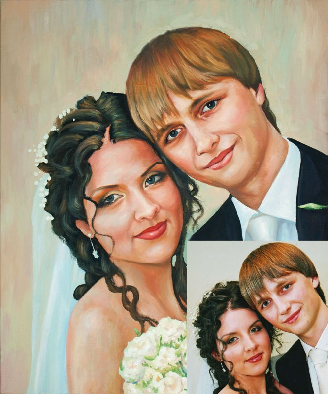Wedding portraits for order in Kyiv